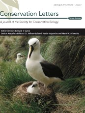 Cover_Conservation_Letters_August_2018