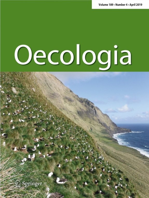 Gamble et al. - 2019 - Oecologia cover